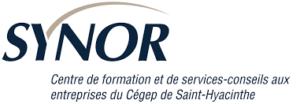 Synor, centre formation et de services conseils en entreprises du Cegep de ST-Hyacinthe